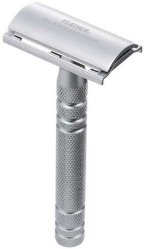 Seki Edge Feather All Stainless Steel Double Edge Safety Razor (AS-D2)-1
