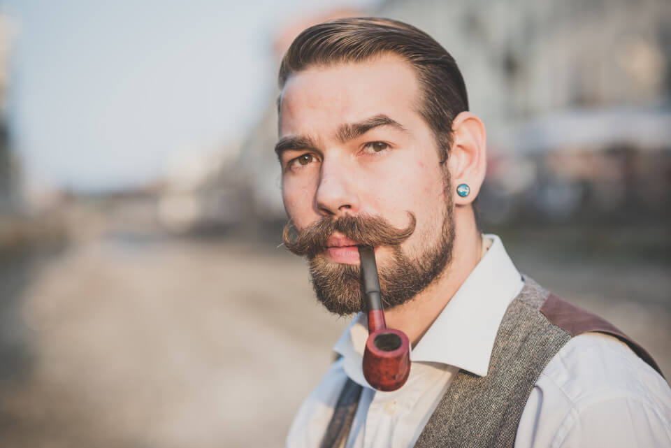 Fabulous Classic And Timeless Facial Hair Styles Iconic Shavers Short Hairstyles Gunalazisus
