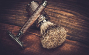 close shave with safety razor